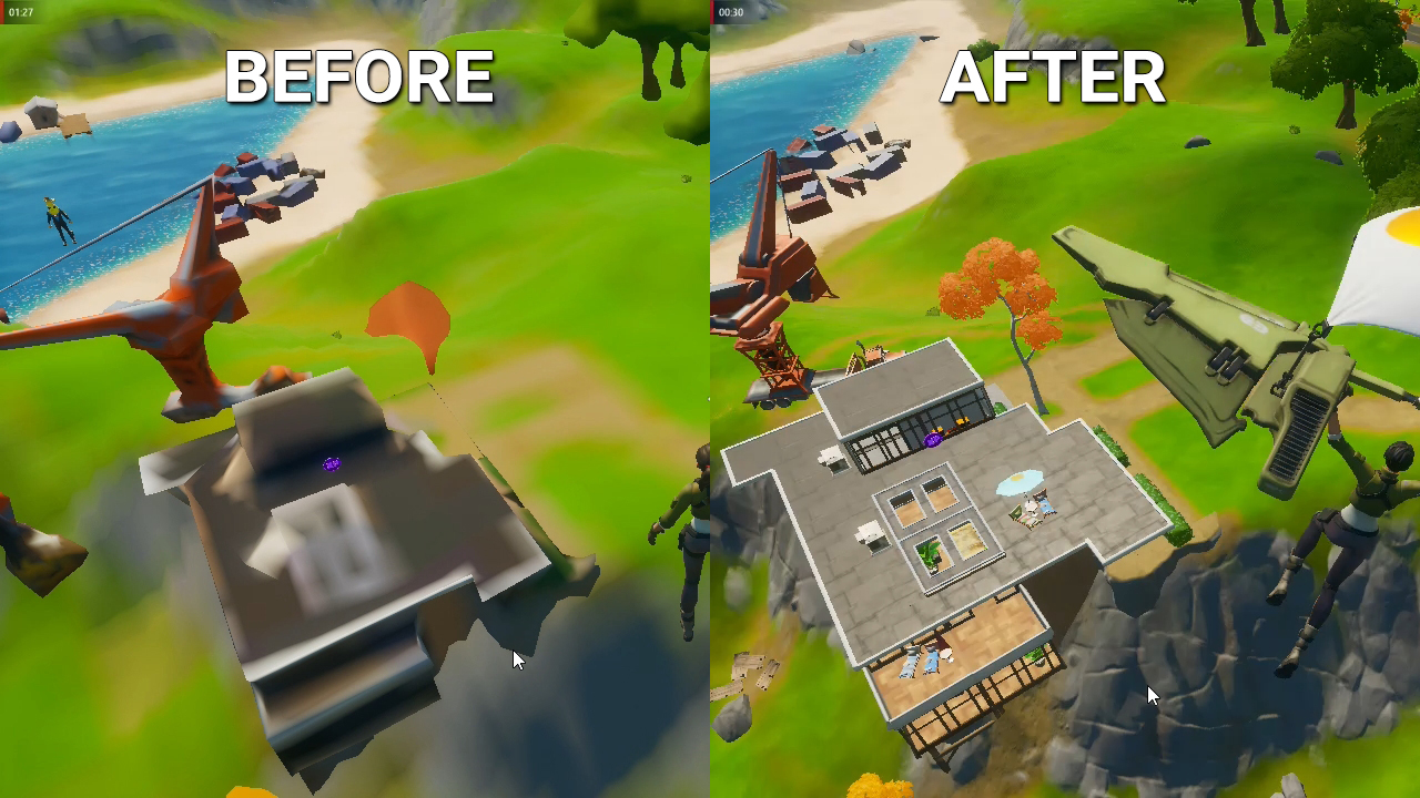 fortnite-celeron-hd7750-texture-not-loading-BEFORE-AFTER