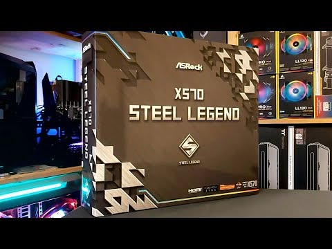 The Legend has arrived - ASRock X570 Steel Legend Motherboard