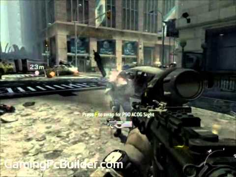 Call of Duty Modern Warfare 3 Test Scene