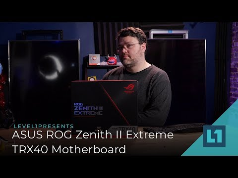 ASUS ROG Zenith II Extreme TRX40 Motherboard Review: Powerful Enough For Threadripper 3?