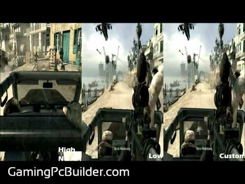 Call of Duty Modern Warfare 3 Side-by-Side Comparison