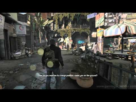 Splinter Cell: Blacklist Benchmarking scene