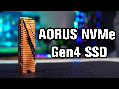 Fastest M.2 SSD!? - AORUS NVMe Gen4 SSD