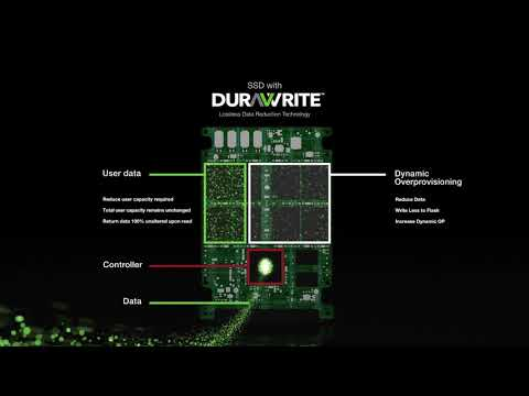 Seagate I SSD with DuraWrite: Lossless Data Reduction Technology