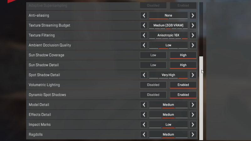Improve Performance in Apex Legends