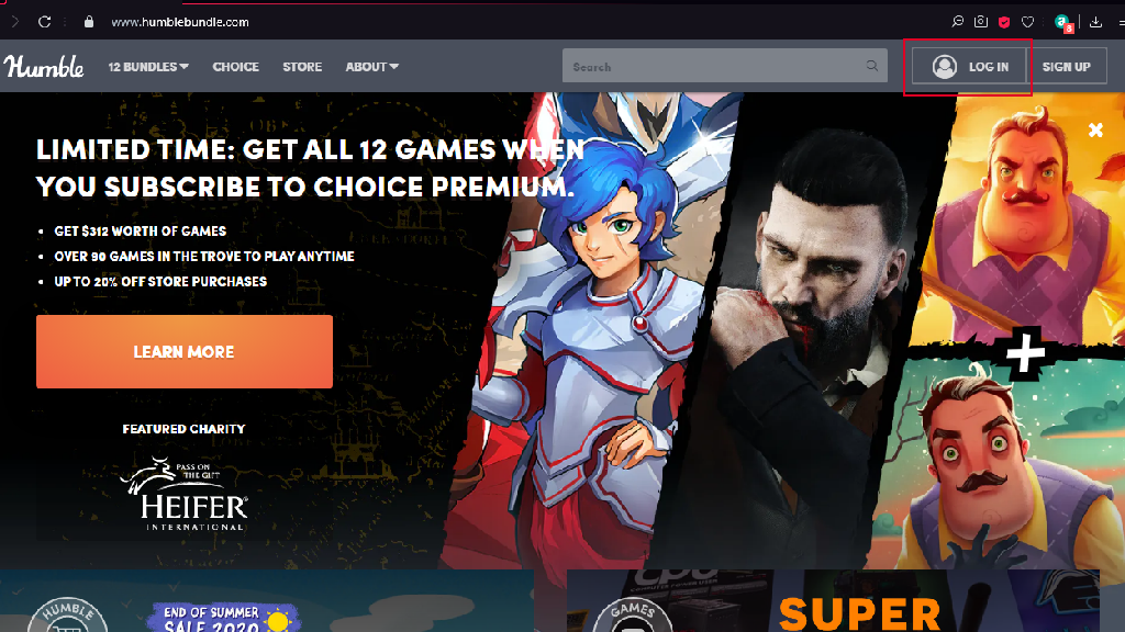 Buy games on Humble Store using paypal