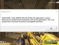 Fix Apex Legends DXGI Error
