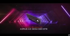 Aorus PCIe Gen4 SSD Reaches 15 GB/s